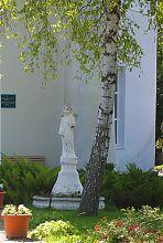 Фигура святого рокитнянского храма