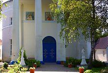 Портал центрального входа ракитнянского храма
