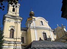 Боковой фасад винницкого Свято-Преображенского собора