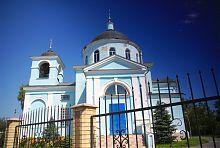 Нововодолазька церква Преображення