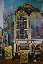Настінний розпис Нововодолазького храму Преображення Господнього