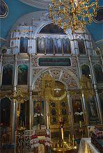 Іконостас церкви в Новій Водолазі
