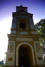 Центральний вхід старомерчіковской церкви Всіх Святих