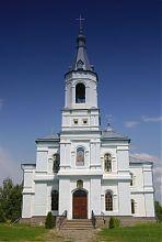 Колокольня Михайловского храма в Краснокутске