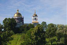 Северный фасад Николаевской церкви в Гиевке (Люботин)