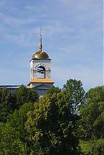 Колокольня Николаевского храма в люботинской Гиевке