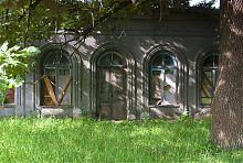 Северый фасад галереи дворца в Гиевке