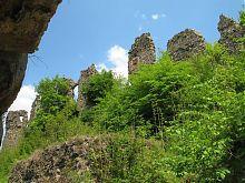 Адміністративно-житлові корпуси Хустського замку