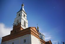Колокольня церкви Вознесения Господня в Люботине