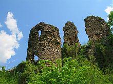 Круглая башня Хустского замка