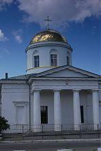 Восточный фасад чугуевской соборной церкви