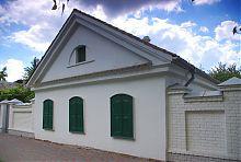 Центральный фасад жилого дома усадьбы Репина в Чугуеве