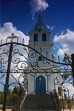 Колокольня кочетковской церкви Владимирской иконы Божией Матери
