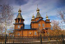 Південний фасад церкви Казанської ікони Божої Матері в Ізюмі
