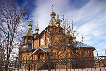 Изюмская церковь Казанской (Песчанской) иконы Божией Матери