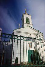 Колокольня изюмской  церкви Воздвижения Честного Креста Господня
