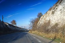 Дорога через Кременец в Изюме