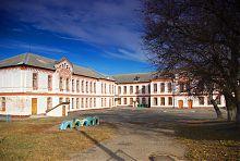 Внутрішній двір школи №4 в Ізюмі