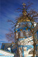 Купол Вознесенсько собору Ізюма