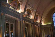 Стиль українського бароко в оформленні вестибюля Центрального вокзалу Києва