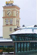 Вежа київського приміського залізничного вокзалу