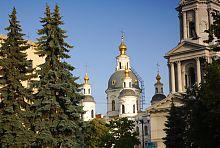 Купола харківського Успенського собору