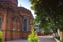 Полукруглая апсида харьковского храма на Холодной горе