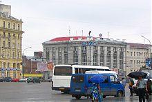 Здание бывшего Азовско-Донского банка в Харькове