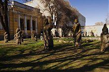 Половецкие каменные бабы исторический музей Днепропетровска им. Д.И. Яворницкого