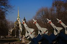 Ракетна установка історичного музею ім. Д.І. Яворницького Дніпропетровська