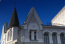 Шпиль ризалита будинку купця Гребенщикова в Харкові