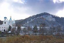 Крейдяні печери Святогірської Свято-Успенської Лаври