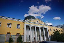 Университетская церковь и библиотечный корпус в Харькове