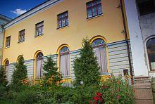 Северное крыло бывшего библиотечного корпуса Харьковского университета