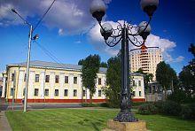 Западный фасад Первой харьковской мужской гимназии