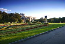 Памятник архангелу Михаилу в харьковском Городском саду им. Шевченко