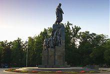 Памятник Тарасу Шевченко в одноименном Городском саду Харькова