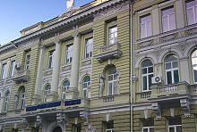 Центральный фасад здания совета горнопромышленников в Харькове