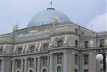 Купол-завершення центрального фасаду Управління Південної залізниці України