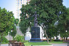 Колишній севастопольський нині харківський пам'ятник гетьману Петру Сагайдачному