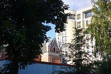 Южная ось трансепта харьковского католического храма