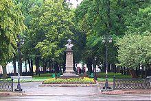 Харьковский памятник российскому поэту А.С. Пушкину