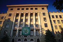 Ризалит центрального входа Харьковского медицинского университета