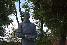 Харьковский памятник преподавателю Покровского коллегиума Г.С. Сковороде