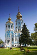 Колокольня Тамаринского храма в Харькове