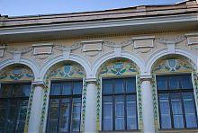 Оформление верхнего яруса бывшей усадьбы И.Е. Игнатищева в Харькове