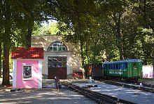 """Депо станції """"Парк"""" дитячої залізниці в Харкові"""