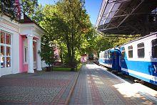 Платформа Малой Южной железной дороги в Харькове
