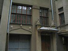 Химеры здания гимназии Покровских в Харькове