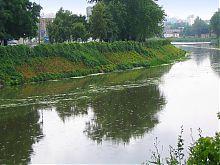 Правий берег річки Лопань в Харкові